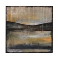 "Misty Horizon II by Jennifer Goldberger - 30"" x 30"", FulcrumGallery.com brand"