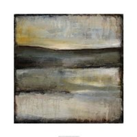 "Misty Horizon III by Jennifer Goldberger - 30"" x 30"", FulcrumGallery.com brand"
