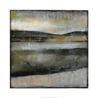 "Misty Horizon IV by Jennifer Goldberger - 30"" x 30"", FulcrumGallery.com brand"