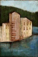 Coastal Villa I by Jennifer Goldberger - various sizes, FulcrumGallery.com brand