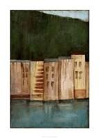 """Coastal Villa II by Jennifer Goldberger - 24"""" x 36"""""""