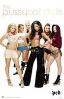"""Pussycat Dolls by Jillian Jeffrey - 22"""" x 34"""""""