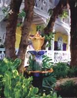 "Conch Fountain by David Van Hulst - 16"" x 20"""
