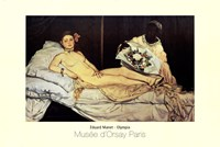 Olympia by Edouard Manet - various sizes