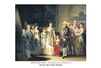 Charles IV and his family, 1800 Wall Poster