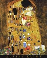 The Kiss, 1908 by Gustav Klimt, 1908 - various sizes
