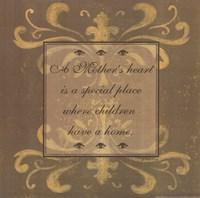 """Mother's Heart by Jo Moulton - 12"""" x 12"""""""