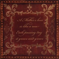 """Mother's Love by Jo Moulton - 12"""" x 12"""""""