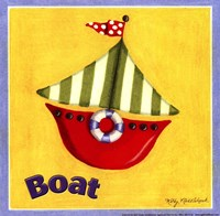 "8"" x 8"" Toy Boats"