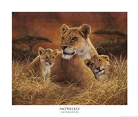 """Motherly by Lucie Bilodeau - 24"""" x 20"""""""