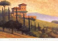Villa D'or I Fine Art Print