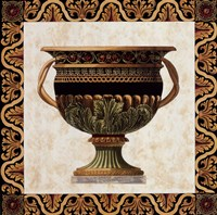 "Roman Urn I by Ltd. Old World Prints - 27"" x 27"""