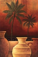 Sunset Palms I Fine Art Print