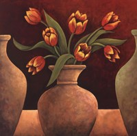 Red Tulips Fine Art Print