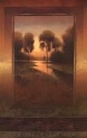 Golden Horizon I Fine Art Print