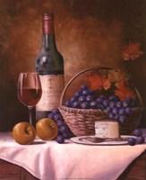 Wine & Grape I Fine Art Print