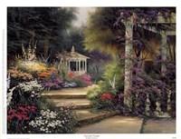Emerald Garden Fine Art Print