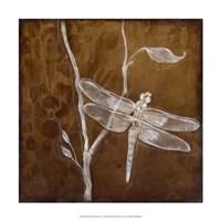 """Wings Damask V by Jillian Jeffrey - 15"""" x 15"""""""