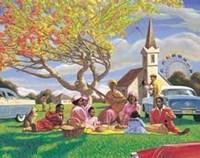 Sunday Picnic Fine Art Print