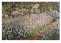 Artist's Garden At Giverny, 1900 Fine Art Print