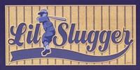 Lil Slugger Framed Print