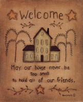 """Welcome by Kim Lewis - 8"""" x 10"""" - $9.49"""