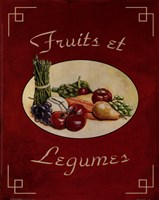 Fruits Et Legumes Fine Art Print