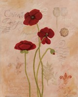 Poppy Fresco II Fine Art Print