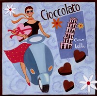 Italian Chocolate Framed Print