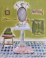 Bath III Fine Art Print
