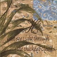 Hope Can See Light Fine Art Print