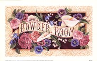 "Powder Room by Karen Avery - 9"" x 6"""