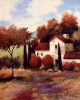 Dijon Farmhouse Fine Art Print