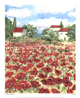 Poppy Field #1 Fine Art Print