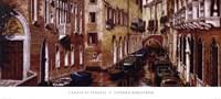 Canale Di Venezia Fine Art Print