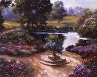 Garden Centerpiece Fine Art Print