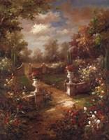 "Rose Promenade by Jillian Jeffrey - 22"" x 28"""