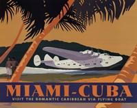 Miami-Cuba Fine Art Print
