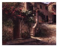 Magliano Courtyard Fine Art Print