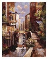 Venice Canal II Framed Print