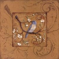 Orange Bird Fine Art Print