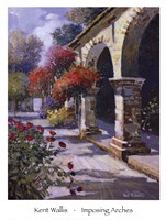 """Imposing Arches by Kent Wallis - 24"""" x 32"""""""