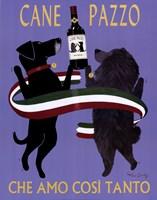 Cane Pazzo Fine Art Print