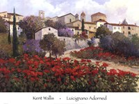 "Luicignano Adorned by Kent Wallis - 36"" x 27"""