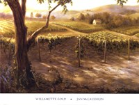 "Willamette Gold by Jan McLaughlin - 36"" x 27"""