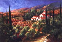 Tuscan Monastery Fine Art Print