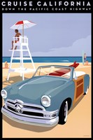 Cruise California Fine Art Print