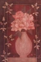 Fleurs Rouge II Framed Print