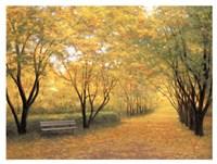 """Autumn Gold by Diane Romanello - 42"""" x 32"""""""