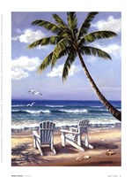 "Hidden Beach by Sung Kim - 6"" x 8"" - $9.49"